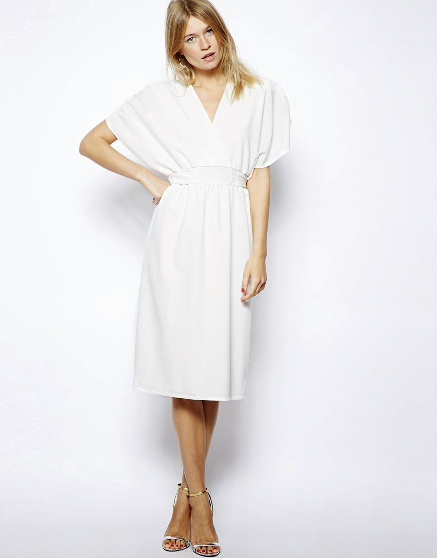 White Kimono Dress - Cocktail Dresses 2016