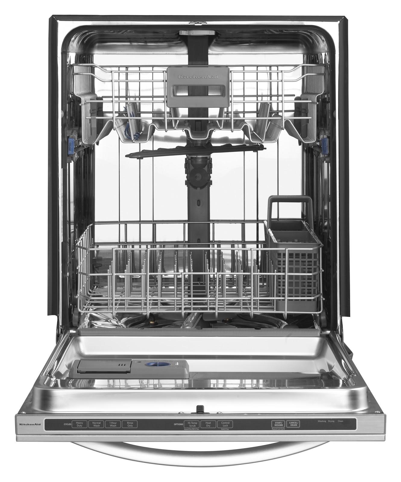 Kitchenaid Black Appliances: Judd & Black Appliance: KitchenAid Dishwashers