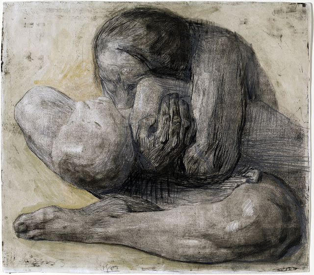 Käthe Kollwitz: Mother with dead child