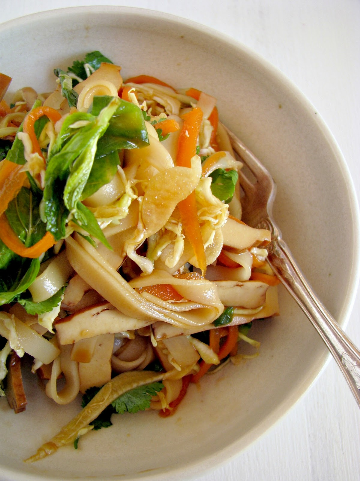 noodle salad with tofu tofu and sesame noodle salad my typical salad ...