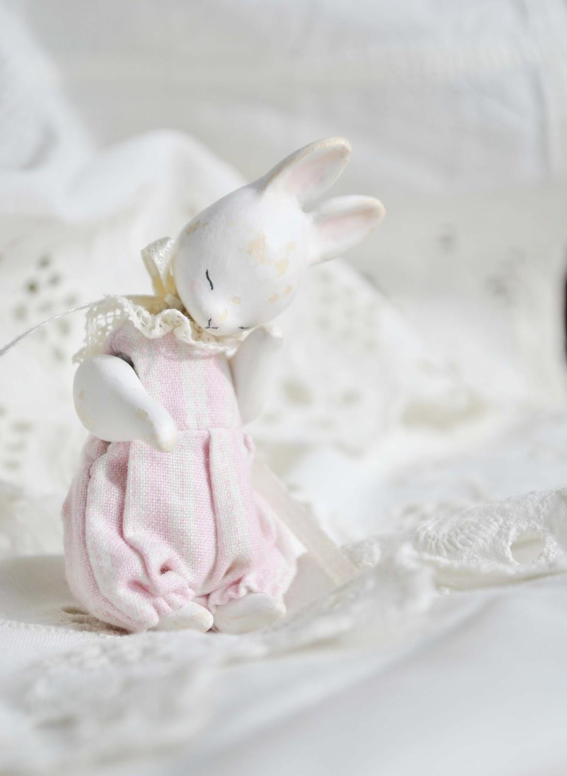 винтажный зайка, винтажная кукла