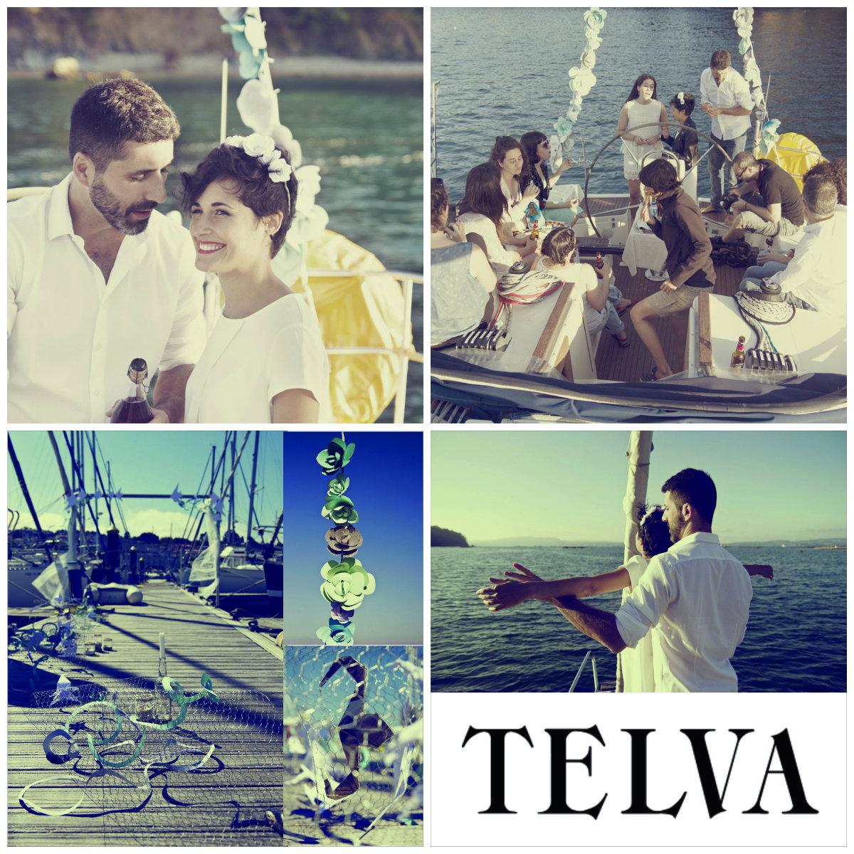 Anaquiños en Telva.com Una boda en alta mar