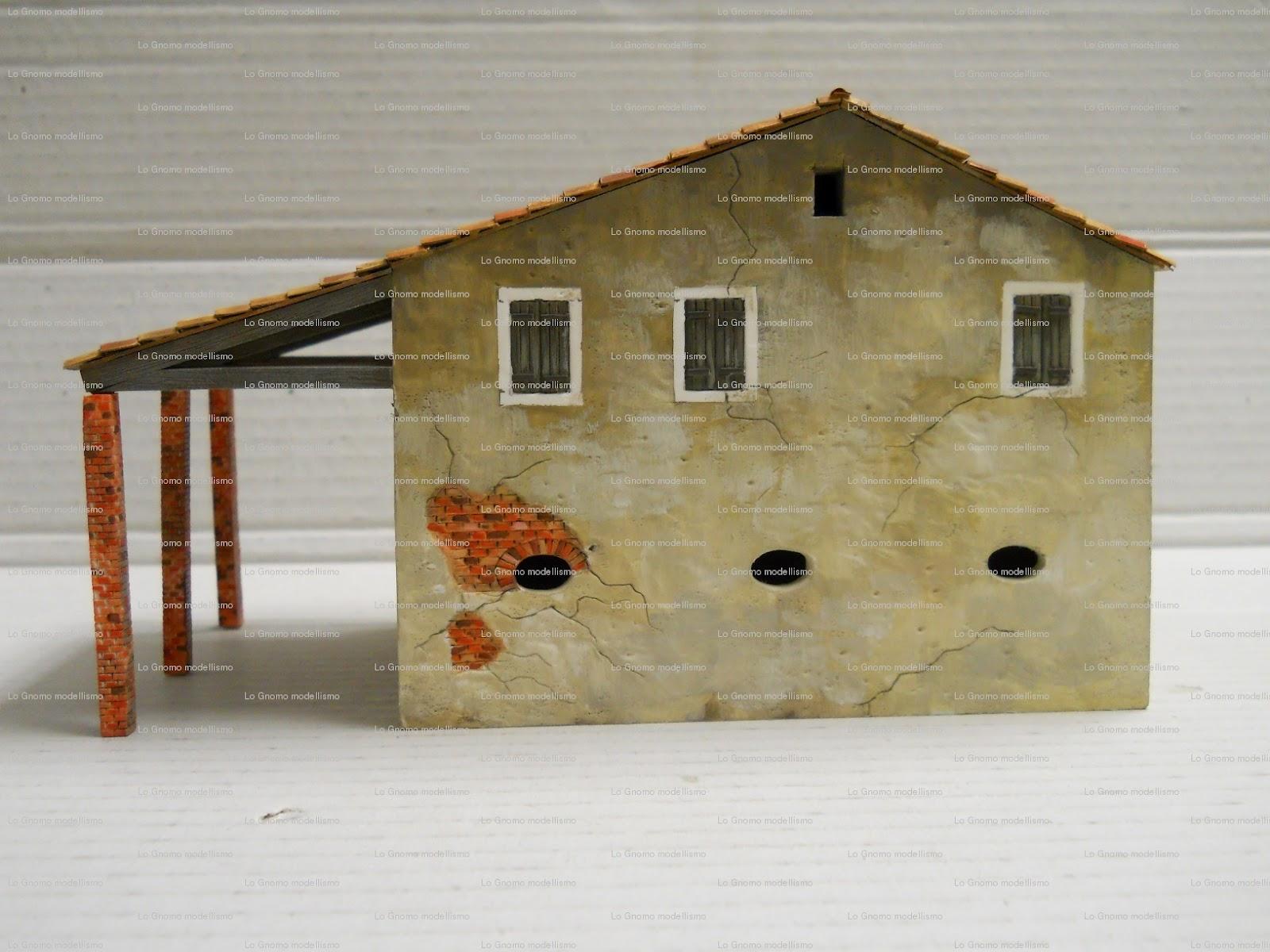 Lo gnomo hobby giochi modellismo nuove scenografie per for Nuove case con seminterrato di sciopero