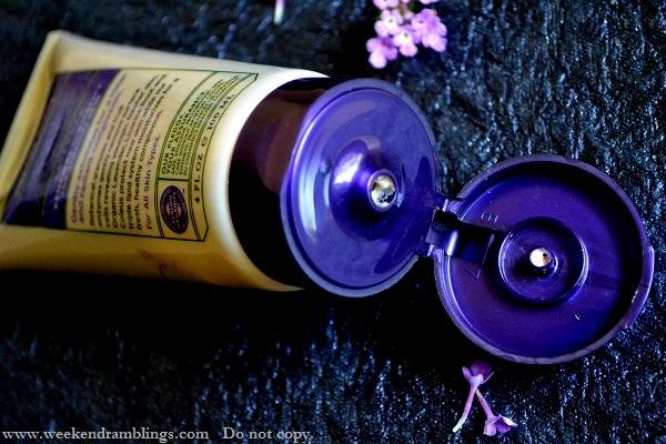 avalon organics exfoliating enzyme scrub lavender drugstore skincare natural reviews ingredients face