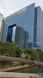 One of the three Manulife buildings in Hong Kong