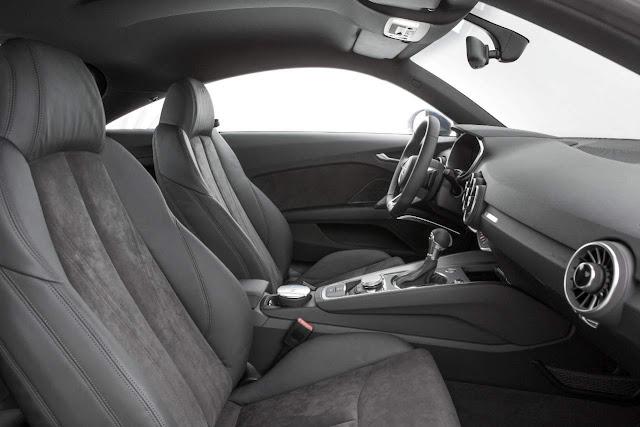 Novo Audi TT 2015 - interior