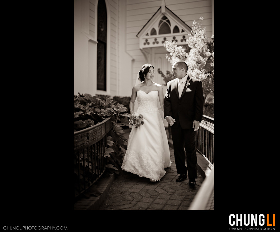 Crowne plaza hotel palo alto wedding