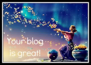 premio: your blog is great!