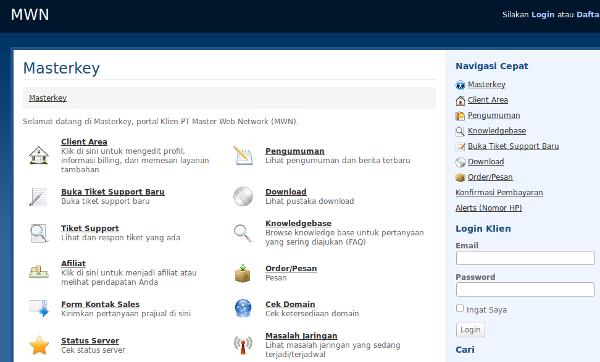 Membeli domain di masterweb