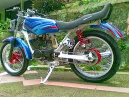 ide modifikasi motor yamaha rx king airbrush