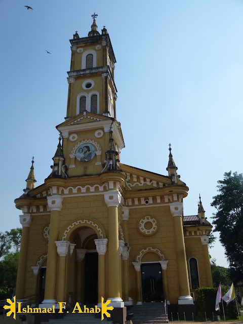 Catholic church outside of the walls of Ayutthaya Historical Park