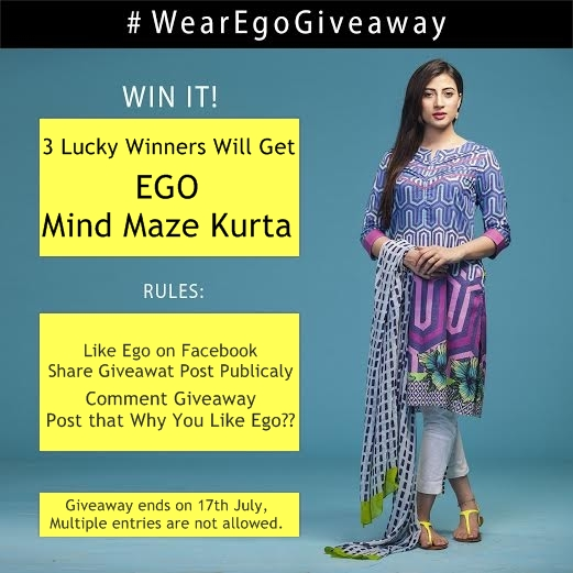 EGO GiveAway Dress