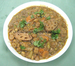 Sindi vegetable curry