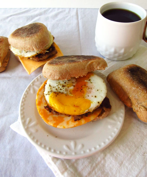 Sausage, Egg, and Cheese McMuffin
