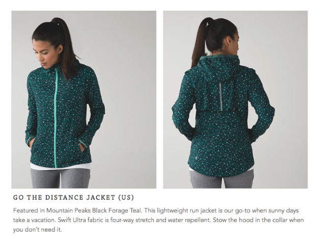 lululemon go-the-distance-jacket mountain-peaks