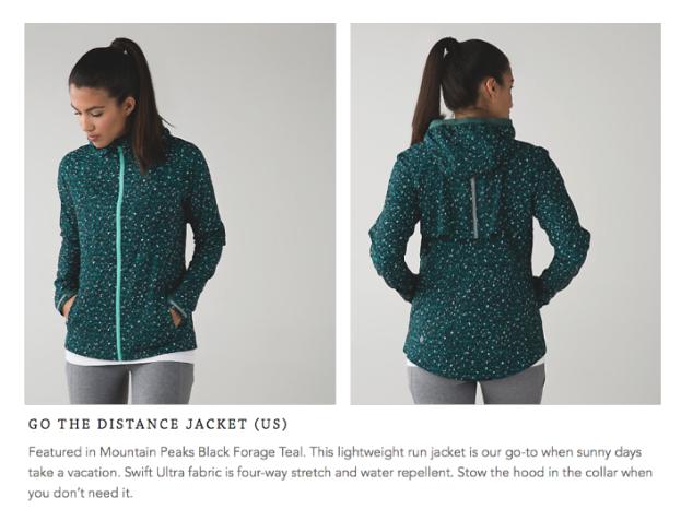 lululemon go-the-distance-jacket mountain-peaks