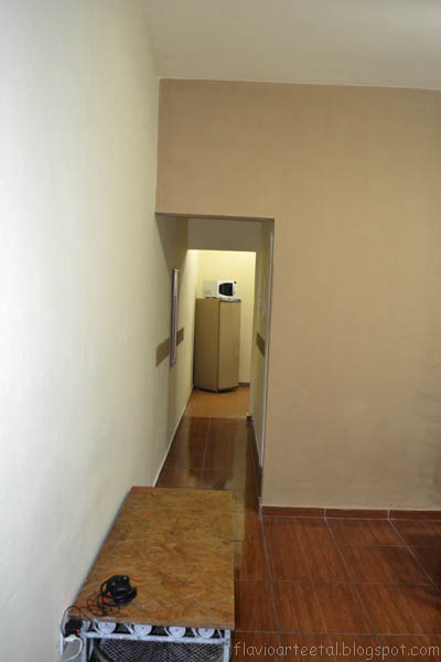 Fl vio arte e tal pintura em resid ncia sala de estar for Sala de estar marron