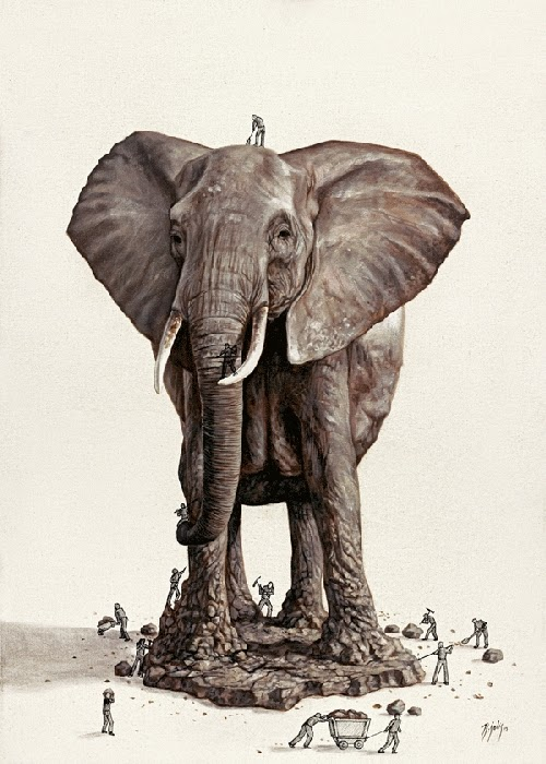 18-The-big-Monument-Ricardo-Solis-Animal-Paintings-and-their-Back-Story-www-designstack-co