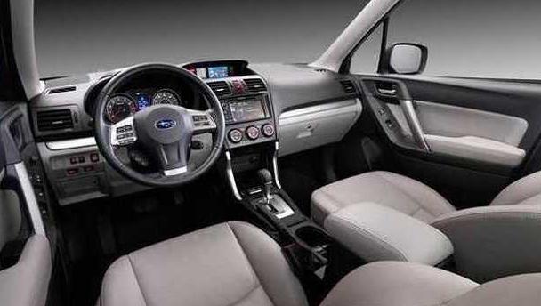 2016 Subaru Forester XT Interior