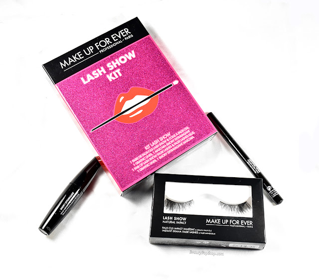 make up for ever lash show kit holiday 2015