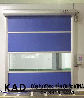 cửa cuốn nhanh-cửa cuốn tốc độ cao Kad tại nhà máy Kian Joo Can (Việt Nam)