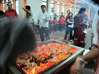 BBQ Catering at Cameron PTP