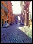 Via Giulia - renesansowa uliczka historycznego Rzymu