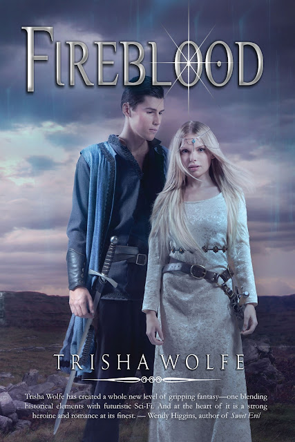 {Cover Reveal} Fireblood by Trisha Wolfe