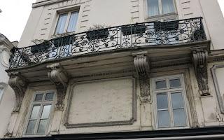 Balcon du 2 rue Vide-Gousset à Paris