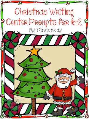 http://www.teacherspayteachers.com/Product/Christmas-Writing-Center-Prompts-for-Kindergarten-through-Second-Grade-284159