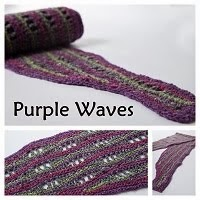 Purple Waves - haakpatroon