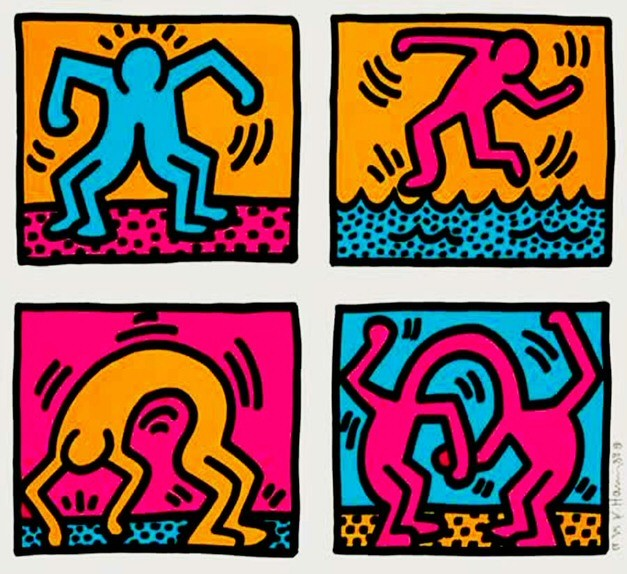 Keith Haring @ Galerie Taglialatella