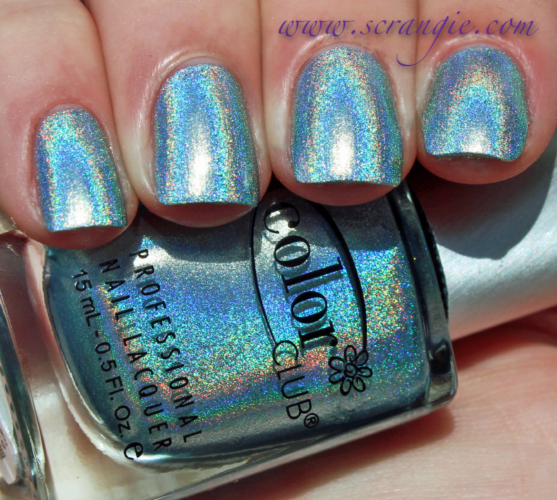 Scrangie: Color Club Halo Hues Holographic Nail Polish