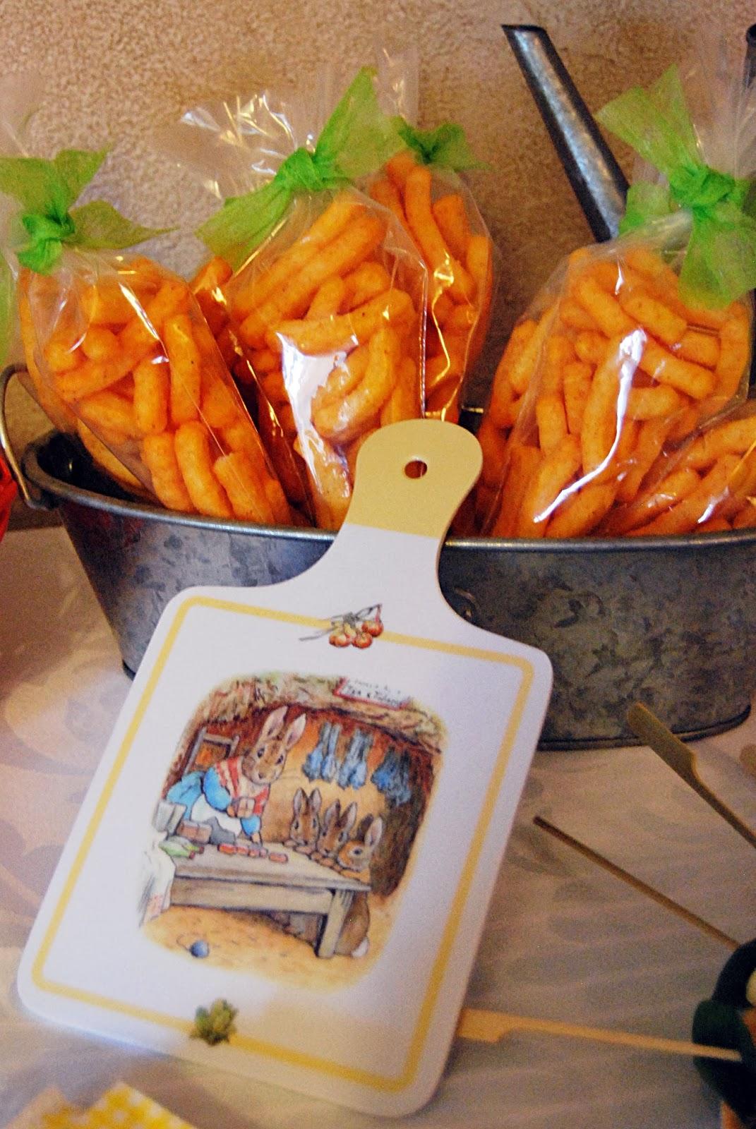 Zanahorias de gusanitos