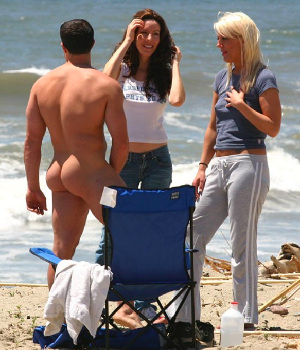 Cfnm Nude Beach Erection