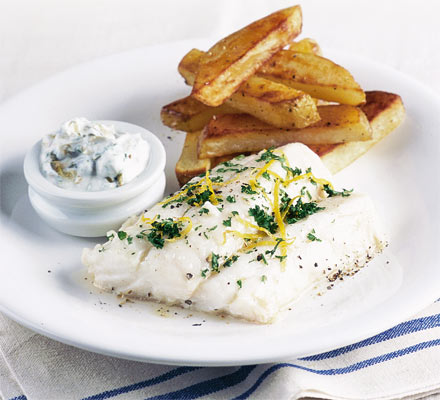 Tikachu's Kitchen: Fish and Chips with Tartar Sauce