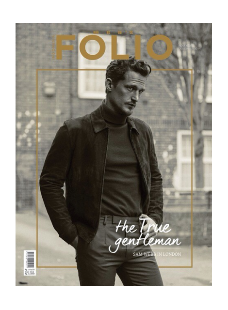 Sam Webb covers Men's Folio Indonesia
