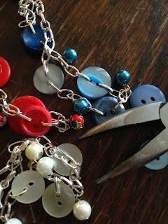 armband, smycken, knappar, pärlor