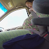 Wow! In this short four minute video a young woman, pretty much accidentally, gives birth to a little boy while riding in a car to the hospital