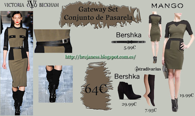 Victoria Beckhan stile cheap look as seen on runway gateway