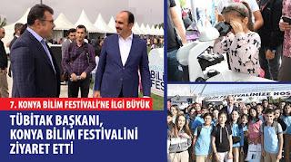 7. Konya Bilim Festivali'ne İlgi Büyük