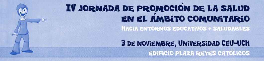 IV Jornada de Promoción de la Salud en el Ámbito Comunitario