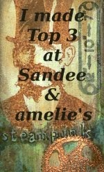 Top 3 (2D) - 12/2014 SanDee & amelie´s Steampunk Challenges