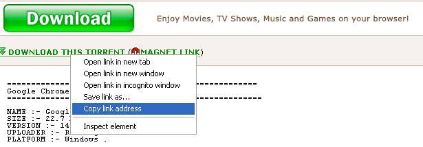 torrent to direct link converter online