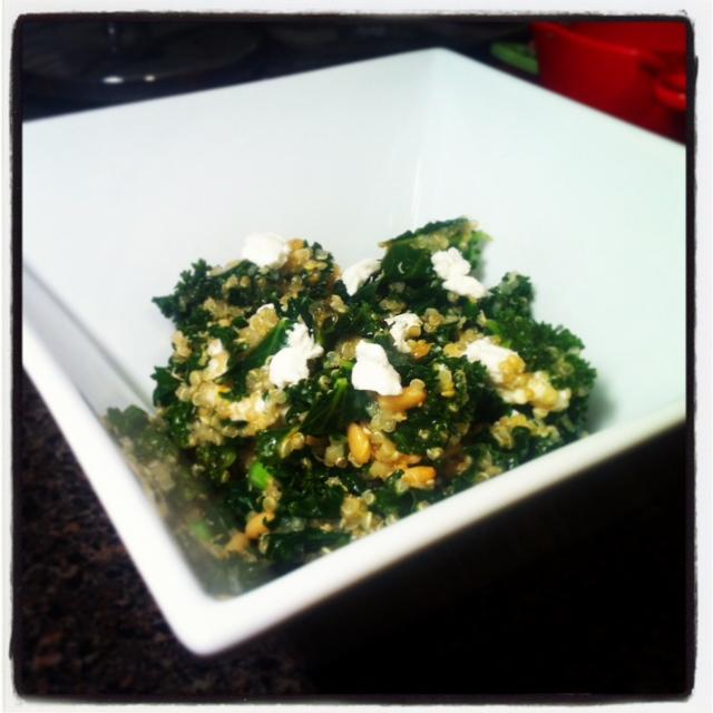 DoughMestic Diva: One Pot Kale and Quinoa Pilaf