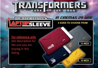Autobot Bumblebee Dark Side of the Moon Decepticon KFC Laptop laptop sleeve Megatron Optimus Prime PC Premiums Shockwave Transformers