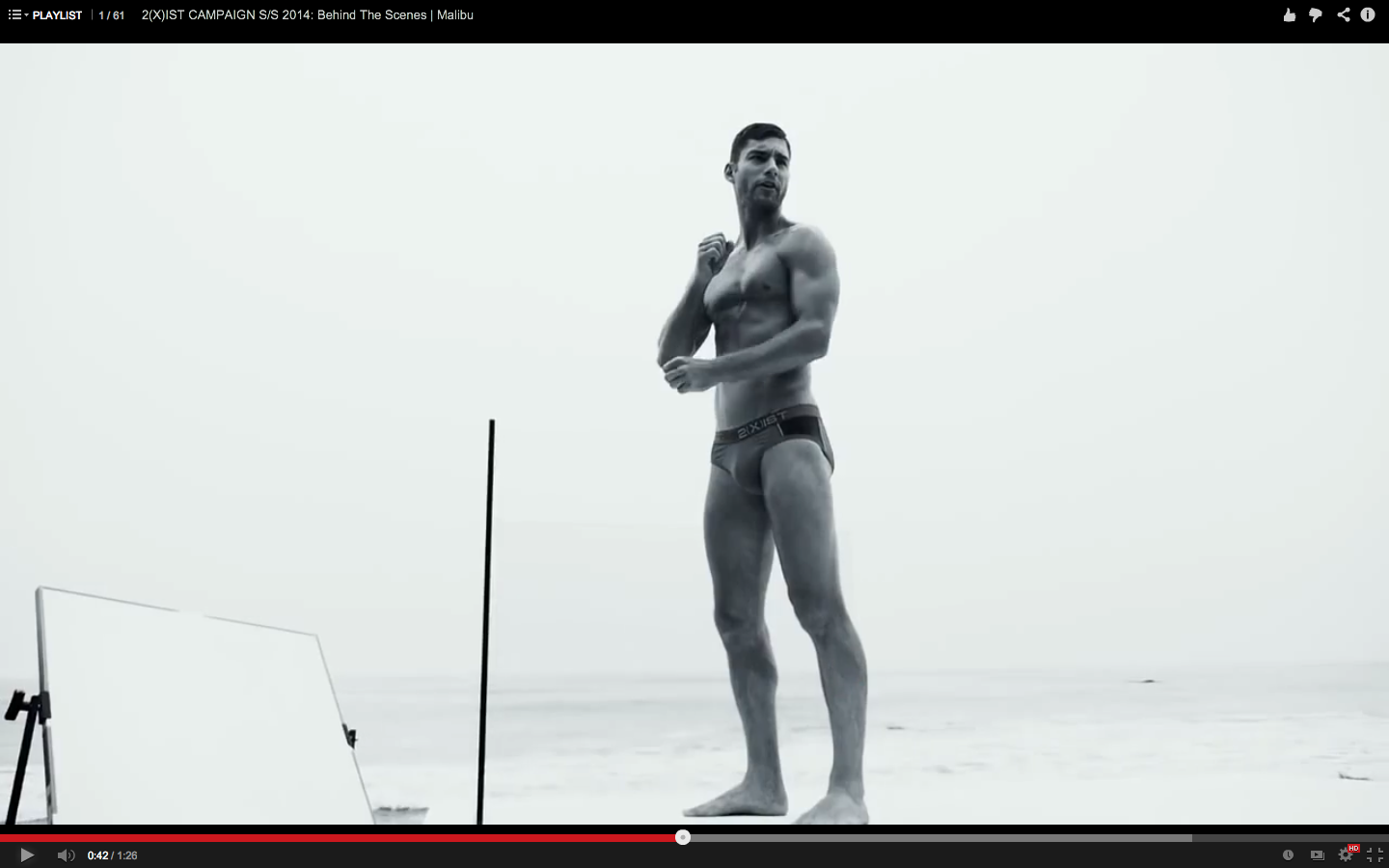 2xist swimwear 2014 - backstage video still