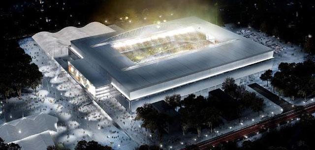 Arena da Baixada, do Atlético-PR, em Curitiba