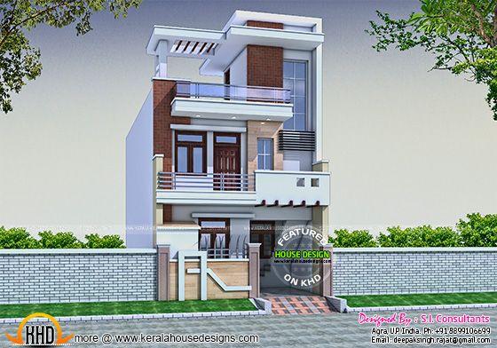 Small Row House Design India