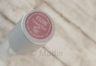 wet n wild Silk Finish Lipstick E529B Copper Dust